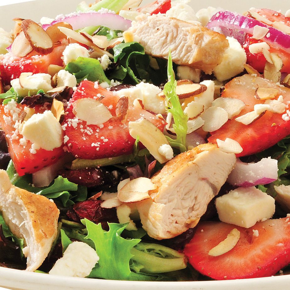 Kirbys Chicken & Strawberry Salad