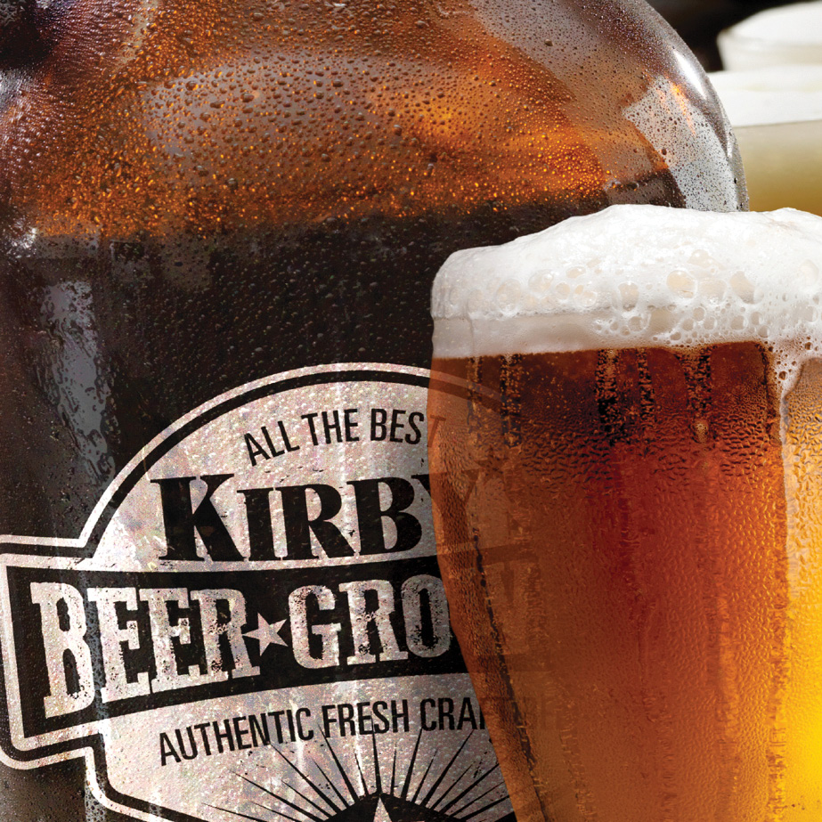 Kirbys Beer Growler